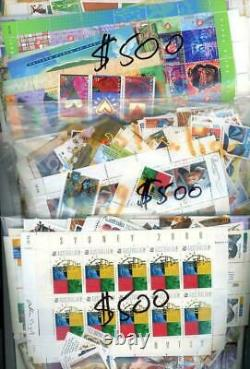 $1,500 Face Value of Australian Mint MUH Full Gum Postage Stamps NEW NEVER USED