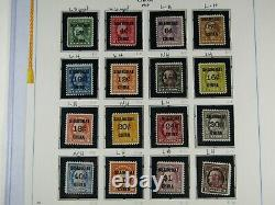 1919 & 1922 US Scott #K1-K18 Mint Offices In Shanghai China Complete Stamp Set