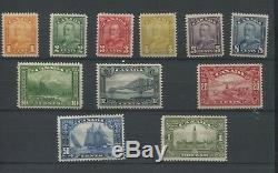 1928 Canada Mint Postage Stamp Collection #149-159 Catalogue Value $1,440