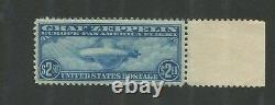 1930 US Air Mail Postage Stamp #C15 Mint Never Hinged Very Fine Graf Zeppelin