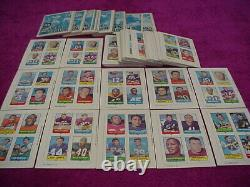 1969 Topps Football 4-in-1 Stamp 52 Cards, 22 Mini Card Albums Very Nice Rare
