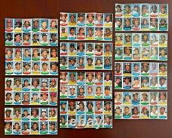1974 Topps Baseball Stamps Set Complete 288 Stamp Set On 24 Sheets Test Issue