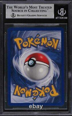 1999 Pokemon Base Set 1st Edition Holo Poliwrath THICK STAMP #13 BGS 9 MINT