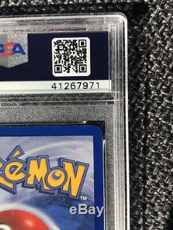 1st Edition PSA 9 MINT Chansey THICK STAMP HOLO 1999 Pokemon Base Set