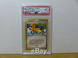 2004 Pokemon World Championship Tropical Wind Staff Stamp PSA 9 Mint