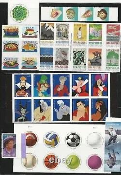 2017 US Commemorative Stamp Year Set Mint NH as the scans show