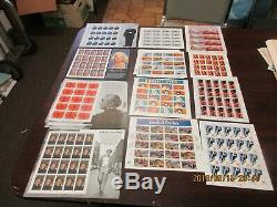 32 cent full sheet lot, Face Value $1352.64, MInt NH