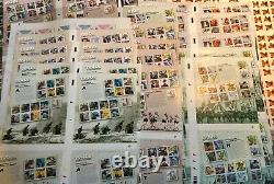 $3800 Face Value Mint Nh, Unsevered Mint Sheets Of U. S. Commemorative Stamps