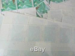 500 X MNH Mint Never Hung 34p stamps GB Cheap Postage FV £170