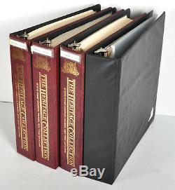 $754.64 Face Value 2191 USPS US Postage Stamps in 4 Binders Unused Mint Cond