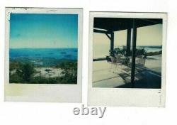 Andy Warhol LOT OF 2 Polaroid estate stamp signed Keith Haring Roy Lichtenstein