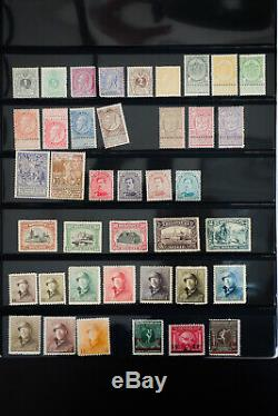 Belgium Old-Time Mint Stamp Collection