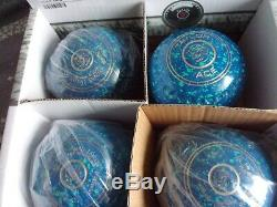 Brand New Taylor Ace Blue & Mint Bowls Size 0 Hw Half Pipe Grip Wb29 Stamp
