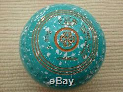 Brand New Taylor Ace Mint & White Bowls Size 2 Hw Half Pipe Grip Wb29 Stamp