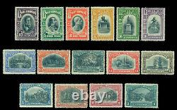 CHILE 1910 Centenary of Independence complete set Scott 83-97 mint MNH Rare