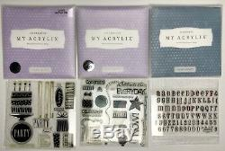 CTMH Close To My Heart Scrapbooking Stamp Lot 33 Sets Art Craft Supplies Holiday