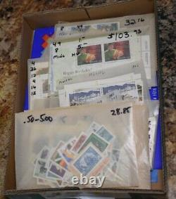 Canada Postage Mnh Og Face Value $1000 See 30 Photos In Description! Nice Lot