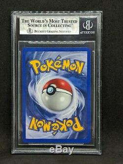 Charizard 1st Edition Shadowless BGS Quad 9 with 9.5 Mint Thick Stamp Pokemon Card