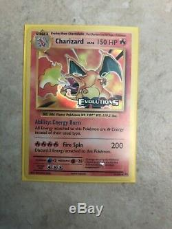 Charizard evolutions holo 11/108 STAMP PACK FRESH MINT