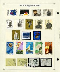 China PRC Fantastic Loaded Mostly Mint 1982 to 1997 Stamp Collection