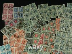 China Stamp 300+ Blocks Collection Lot Martyrs, Military Dr. Sun, Scarce Cancels