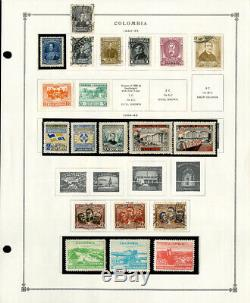 Colombia Loaded 1800's to 1990's Clean Mint & Used Stamp Collection