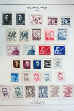 Czechoslovakia 1920 to 2000 Mostly Mint Very Complete Loaded Stamp Collection