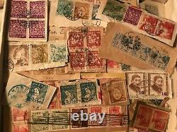 Estate // Japan // Neat Stamp Collection Lot // Old // On/Off Paper