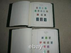 GB Mint Stamp Collection 1971 2000 in 2 Lighthouse Hingeless Albums