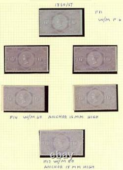 GB Stamp Collection Inc Mint Qv Revenues, Circular Delivery Stamps And Labels