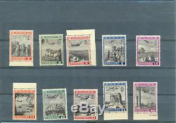 GREECE 1940 EON AIRMAIL SET MNH MINT cat. Price 1380$ FREE REGISTERED POST