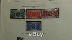 Great Britain & regionals stamp collection in Scott specialty with 780 to'84 mint