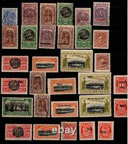 Greece Crete Beautiful Mint and Used Stamp Collection Catalog Value $1,240++