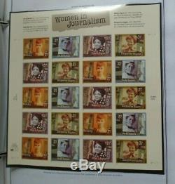Harris US stamp album collection 2003-2005 mint NH $530 face value