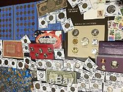 Huge Lot 450+Coin$/StampSilver Note/Mercury/Buffalo/Indian/1892/WL/Proof/IKE/V+