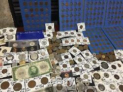 Huge Lot 500+ Coin$/StampSilver Note/PCGS/Mercury/Buffalo/Indian/WL/1893/Proof+