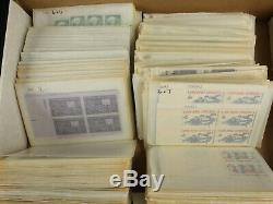 Incredible MNH U. S. Stamp Collection Lot 1923-1974 1000+ Mint Blocks of 4, 6, ++