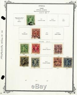 India States Loaded 1800s to Early 1900s Mint & Used Stamp Collection