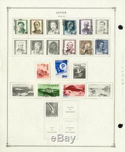 Japan Loaded 1916 to 1980s Clean Mint & Used Stamp Collection