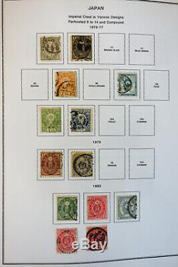 Japan Overloaded Mint & Used 1800s to 2000 Advanced Stamp Collection