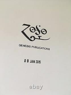 Jimmy Page Book By Genesis Publications First Edition Birthday Hand stamp Mint