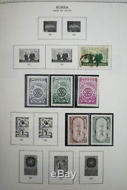 Korea Mint 1800's to 1980's Stamp Collection