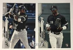 LUIS ROBERT RC SP LOT 2020 Topps Opening Day #201 Image SP 582 Foil Stamp #392