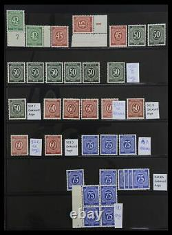 Lot 33092 Stamp collection Allied Zone and DDR 1946-1990