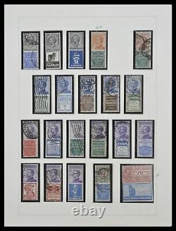 Lot 33170 Stamp collection Italy advert stamps 1924-1925