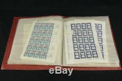 MNH Israel Full Stamp Sheet Collection 142 Mint withTabs, Sets 190-202, 215-217 ++