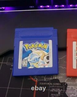 Mint00 stamp Pokemon BLUE Version AUTHENTIC! Trusted Game Boy GBA Gameboy