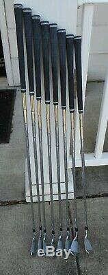 Near Mint Callaway Apex Pro Forged irons 3-PW KBS Tour 120-S'19 H Hosel Stamp
