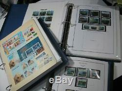 New Zealand Stamp Collection Mint 1980's 2000's Over $1,600 NZD Face Value