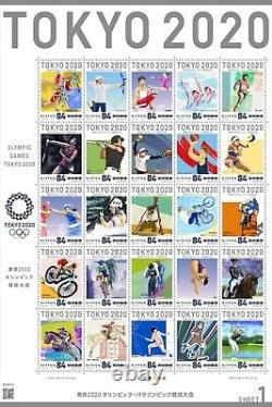 Official Tokyo 2020 Olympic Games Stamp Collection MINT CONDITION